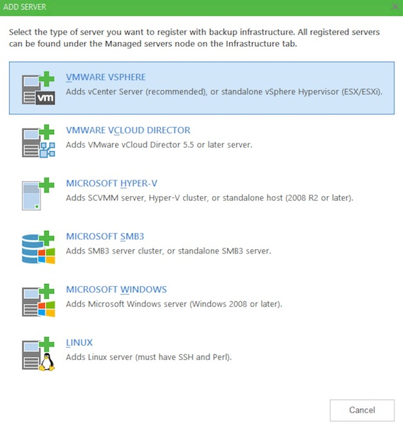 How to Configure Veeam Backup & Replication (Enterprise) with Hosted